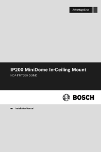 To view the document Bosch NDA-FMT200-DOME Installation Manual