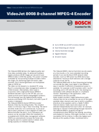 To view the document Bosch VideoJet 8008 User Manual